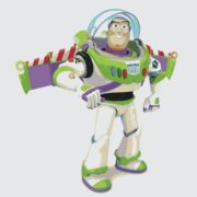 Buzz Lightyear Talking Action Figure   1