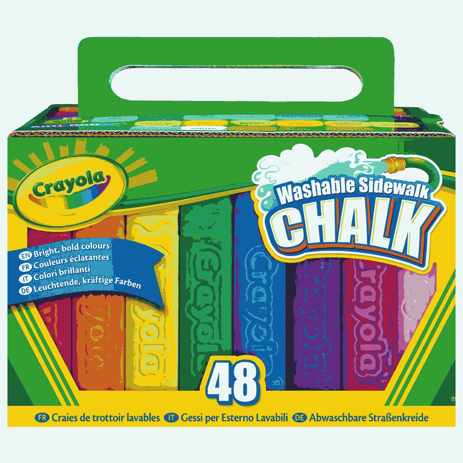 Count Sidewalk Chalk