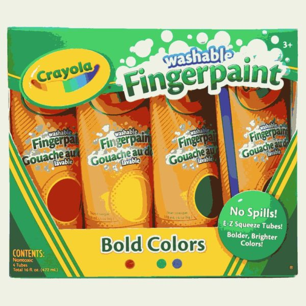 Washable Fingerpaints Primary 1