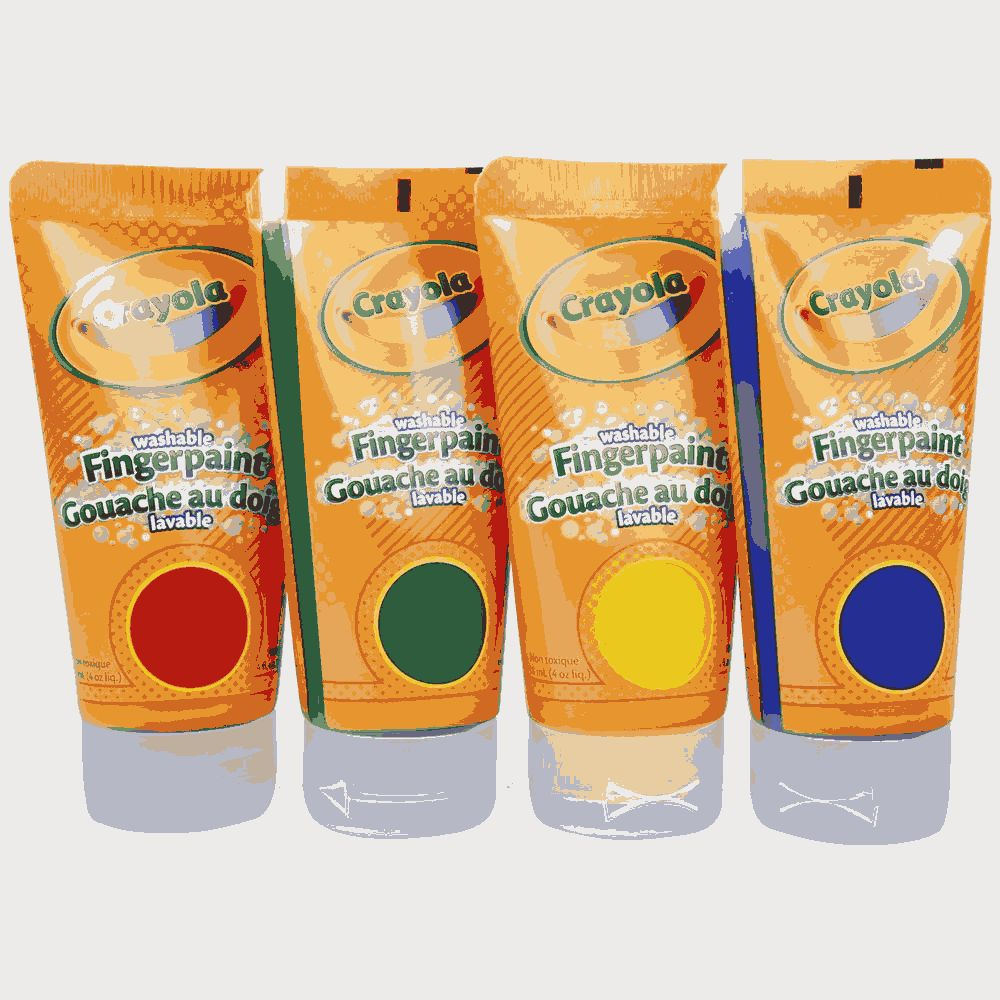 Washable Fingerpaints Primary 2